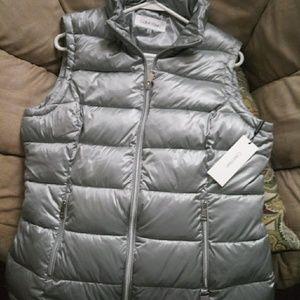 Calvin Klein puff vest size L